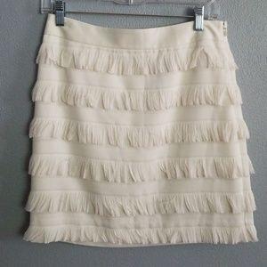 The Limited Fringe skirt